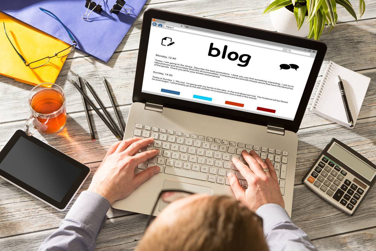 blog e-commerce contenu digital